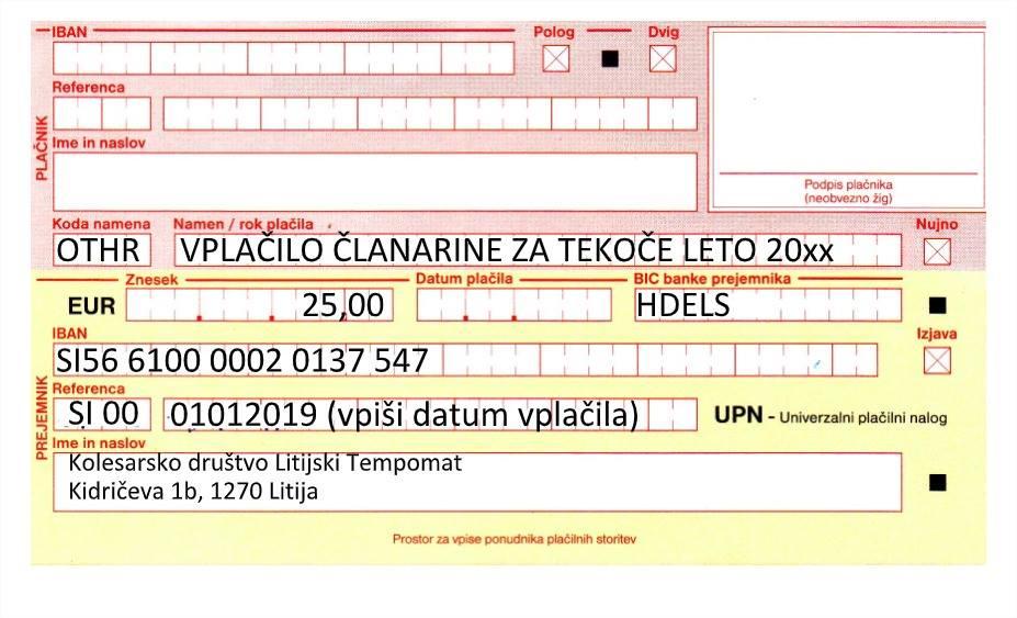 UPN Litijski Tempomat